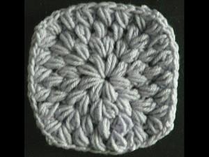 Puff Stitch in The Round