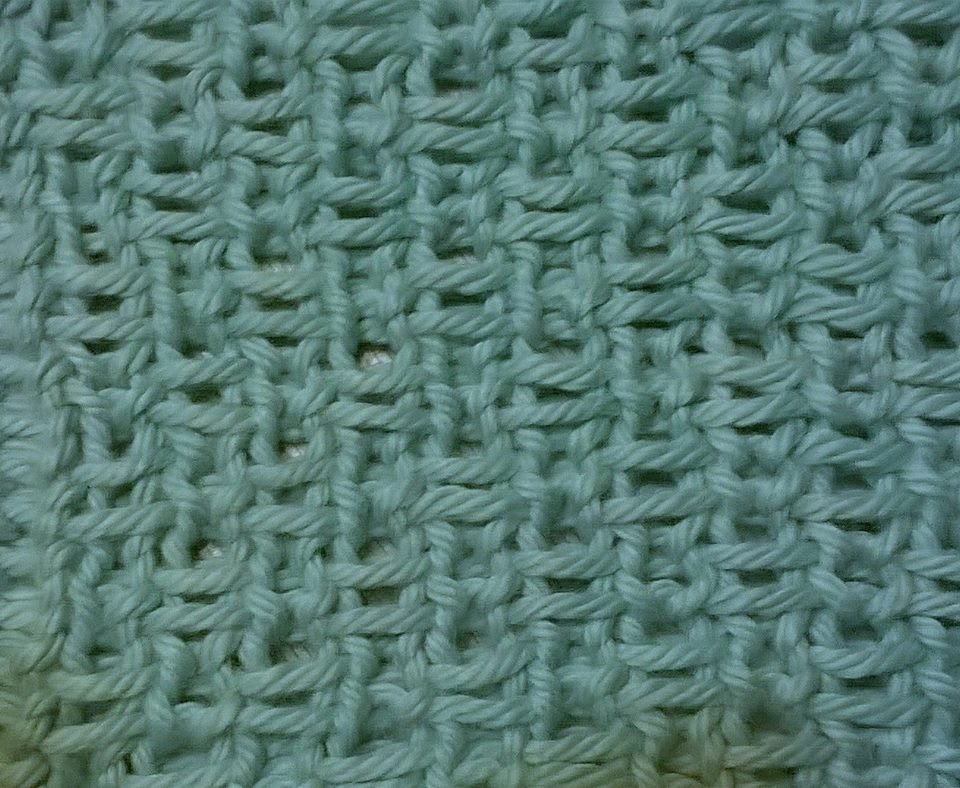 Double Knitting In The Round : Linen stitch knitting tutorial and patterns piece
