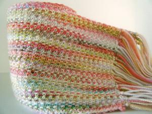Linen Stitch Scarf Pattern
