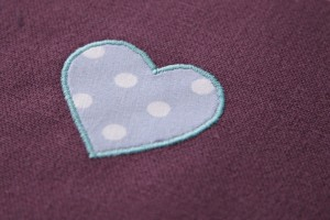 Satin Stitch Applique