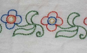 Stem Stitch Needlepoint
