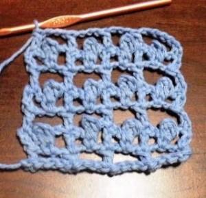 Picot Mesh Stitch