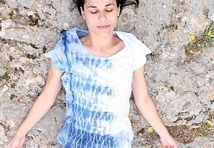 Shibori Dyeing T Shirt Pictures