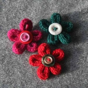 Images of Spool Knitting Flowers
