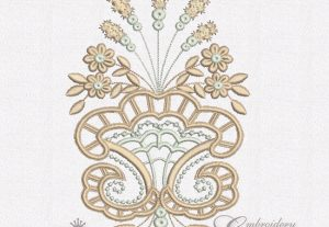 Pictures of Cutwork Lace Embroidery Designs