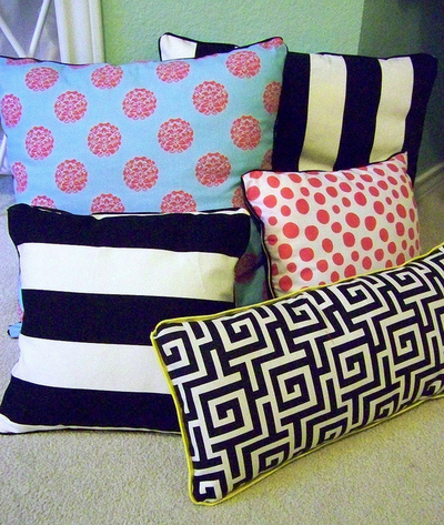 NoSew Pillow Covers Tutorial And Pattern Ideas Stitch Piece N Purl Fascinating Sewless Pillow Cover