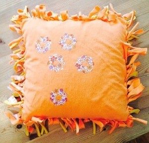 No-Sew Pillow Covers with Fringe Picture