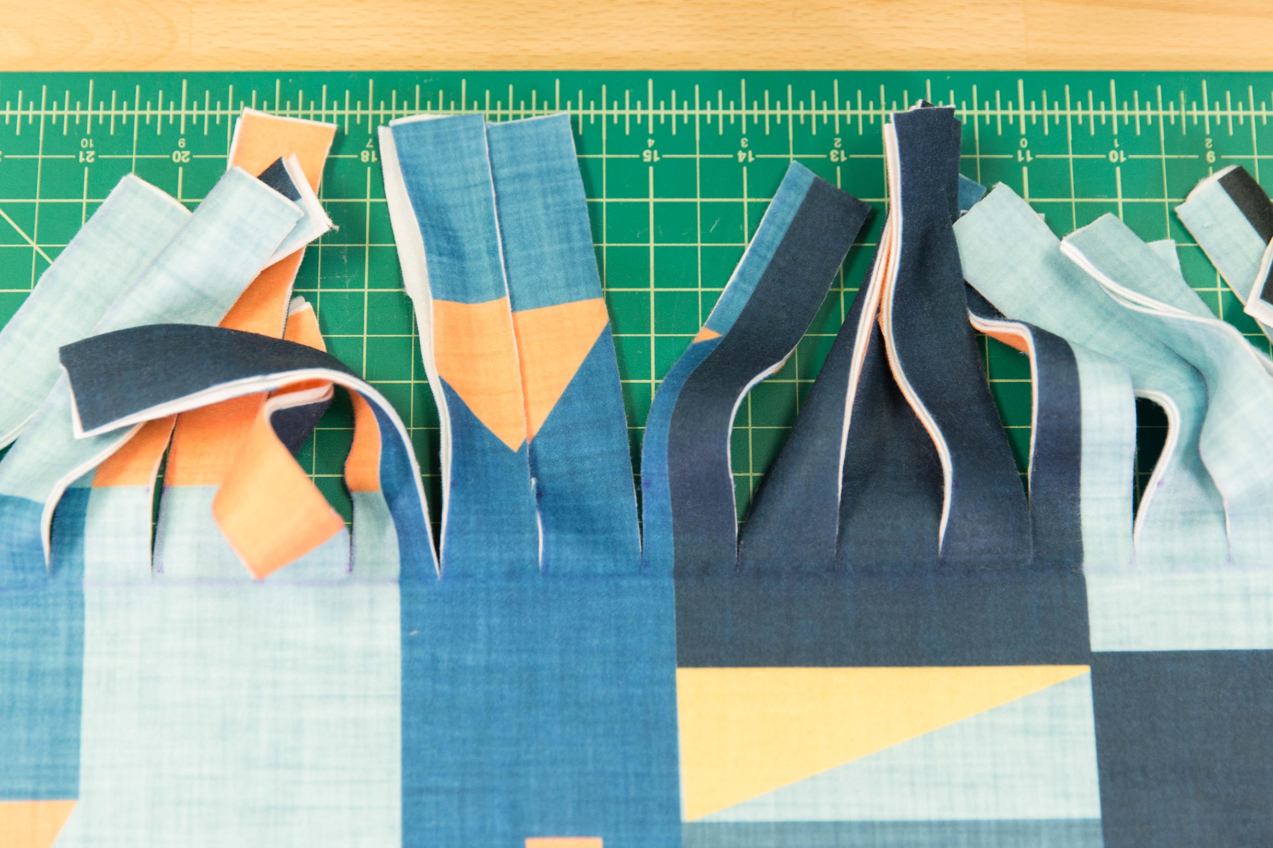 Tie Blanket Tutorial And Patterns Stitchpiecen Purl Com