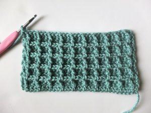Waffle Stitch Crochet Picture 8