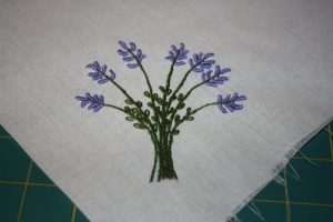 Bullion Stitch Lavender