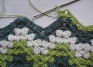 Granny Ripple Stitch