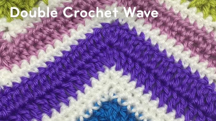 Crochet Ripple Stitch Tutorial And Patterns