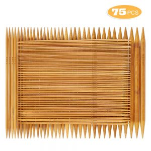 Double Pointed Bamboo Knitting Needles Set