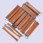 Double Pointed Carbonized Bamboo Knitting Kits Needles Set